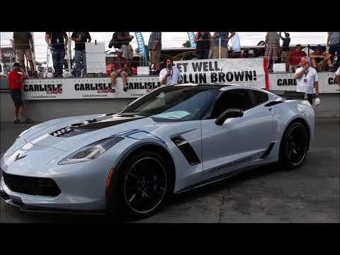 Introducing the 2018 Corvette Carbon 65 at the 2017 Corvettes At Carlisle
