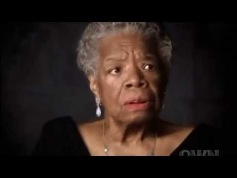 Maya Angelou's life lesson: Love Liberates