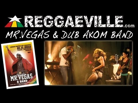 Mr. Vegas - Get Ready To Wine Up in Wuppertal, Germany @ U-Club 11/21/2012