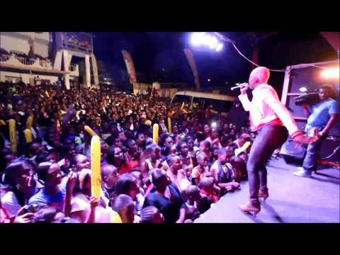 Watch One Of Jamaica's Hottest Female Artistes - Tiana Rocks St Mary - RJR Cross Country Road Tour