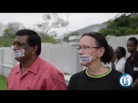 Protesters against firing of UWI professor after gay outrage