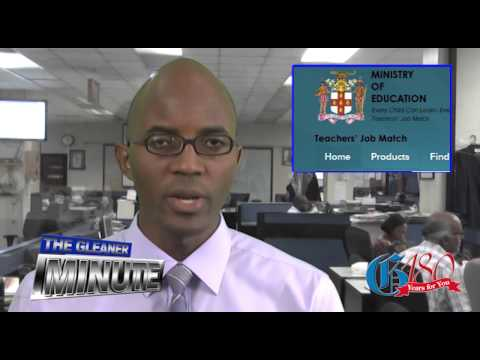 THE GLEANER MINUTE: Sex ed breaches ... Job site for teachers ... DDP defends office