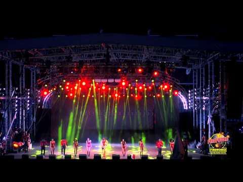 International Soca Monarch 2015 Finals Machel Montano Like a Boss (Firepower Fireworks)