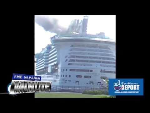 THE GLEANER MINUTE: Cruise ship fire ... Gays have rights ... Police murder