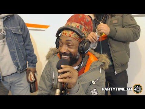 Lutan Fyah Interview & Freestyle at Party Time Reggae Radio Show - 10 JAN 2016