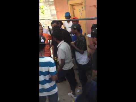 Sean Kingston visit Sizzla at Judgement Yard Kings