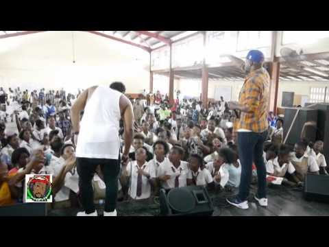 VOICEMAIL LIVE AT HOLY TRINITY HIGH SCHOOL VIDEO FACE ISLAND JAMS