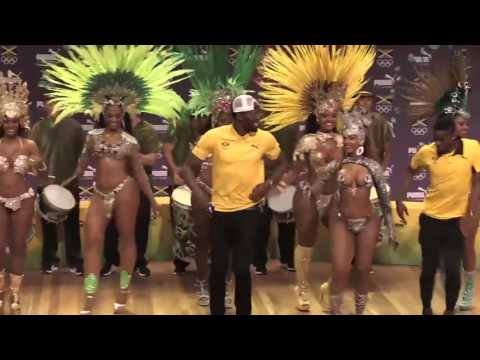"""Usain Bolt """"DANCING""""  With Sexy Women in Rio 2016"""