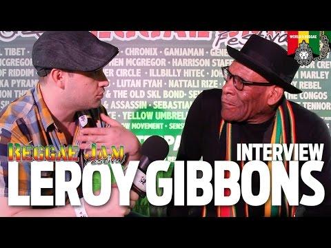 Interview Leroy Gibbons at Reggae Jam 2016