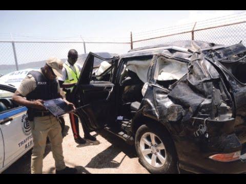 THE GLEANER MINUTE: Gangster fined $100...Businessman killed in crash...Jamaica dominated CARIFTA