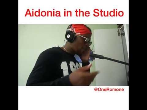 Aidonia in studio Yeah Yeah Yeah (Official Video) Parody July 9 2017