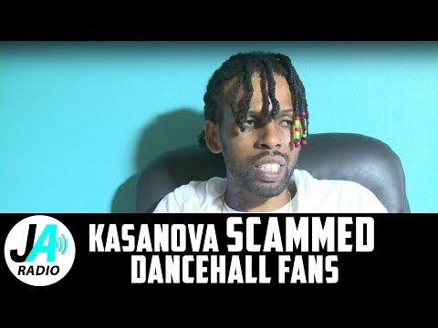 Kasanova SCAMMED Dancehall Fans | Faked His Kidnapping