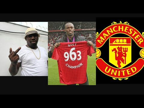 Foota Hype Says Usain Bolt Upset With Fans & Talks About Him Playing For Manchester United
