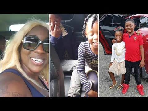 SPICE & HER KIDS VISIT THE ZOO AND HAVE FUN