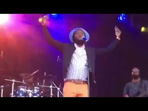 Iba Mahr Great Reggae Artiste Performs at Reggae Geel 2017