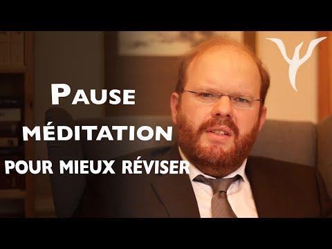 Pause méditation pour booster vos révisions