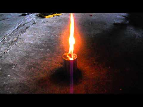 DIY wood gas stove - World Stove Design: an improvised version
