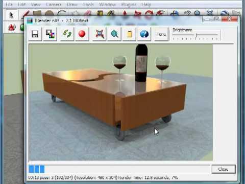 Simple Object Rendering Using IRender nXt