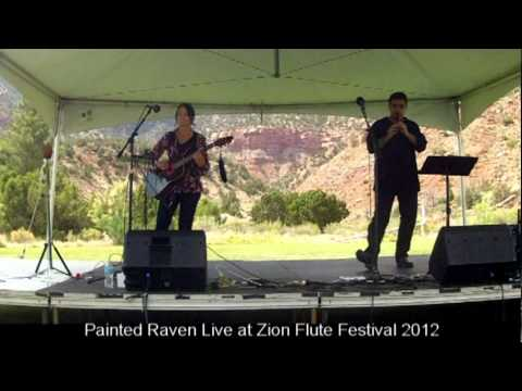 2012 Zion Flute Festival - Painted Raven performs Canyon De Chelly