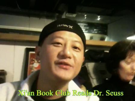 Book Club reads Dr. Seuss