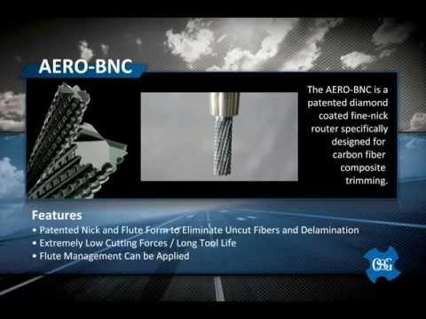 OSG tap & Die AERO-BNC composite routers
