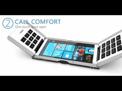 Triple Flip Concept Cell Phone Design
