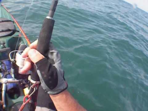 Pesca kayak palometón 16,800kg