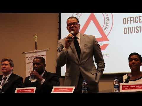 Mayoral Debate Opening Speech