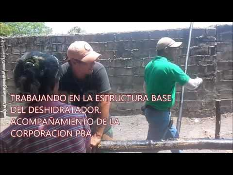 CONSTRUCCIÓN DE DESIDRATADOR ASOMUSAT.