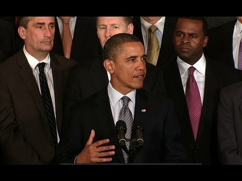 President Obama Speaks about Insourcing American Jobs