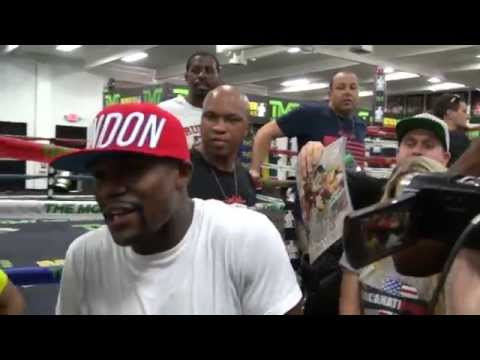Floyd Mayweather says Andre Berto or Karim Mayfield might be next in line