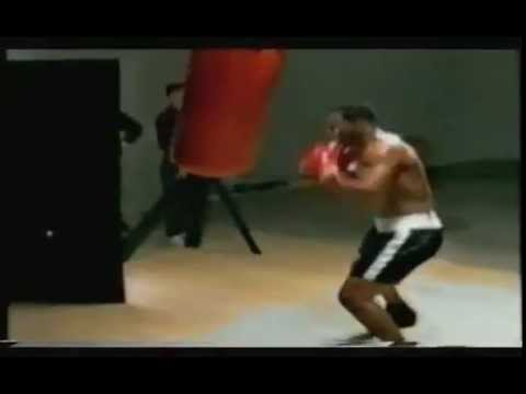 Mike Tyson Training