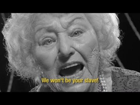 "96yo Metal Grandma Holocaust Survivor ""The Universe Echoes Back"" Inge Ginsberg & the TritoneKings"