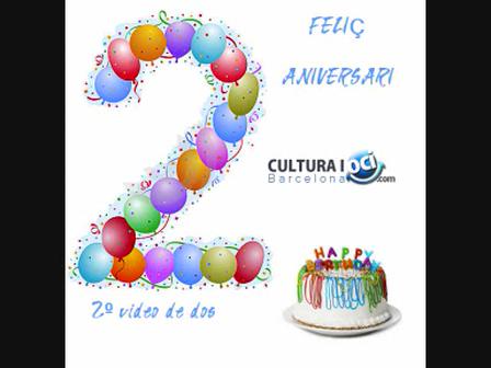 2º Aniversari Cultura i Oci Barcelona - 2ª entrega de video