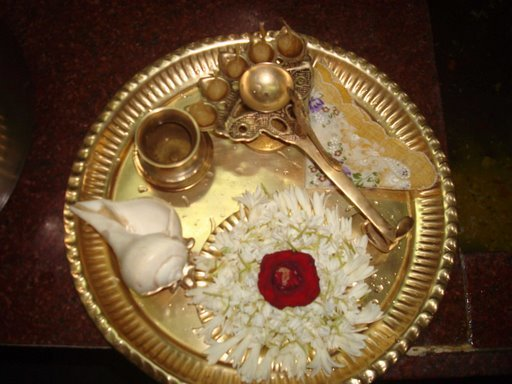 Image result for aarti  plate