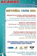 PROJETO CULTURAL ARTES DO BRASIL - ACADOC/FUNARJ