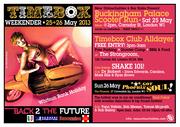 BUCKINGHAM PALACE SCOOTER RUN/TIMEBOX WEEKENDER