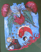 """First Friday Art Walk- """"Capturing the Heart of Literature"""" by Willow Wind School Artists"""