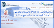 Validation and Part 11 Compliance of Computer Systems and Data 2017