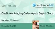 Bringing Order to your Digital Chaos 2017