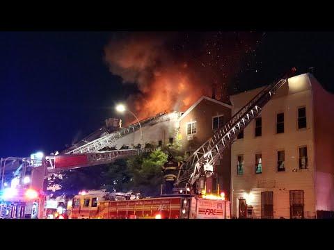 Bronx Three-Alarm Fire
