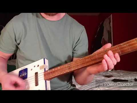 How to play Daughter by Pearl Jam on Cigar Box Guitar