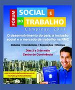 FÓRUM SOCIAL E DO TRABALHO