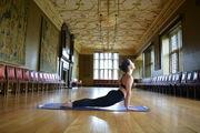 Sunrise Yoga at the Charterhouse