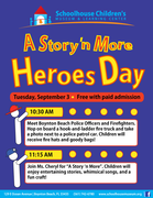 Heroes Day at the Schoolhouse Children's Museum & Learning Center