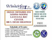 Annual Town of Lantana Winterfest