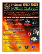 Rooney's Golf Foundation Charity Poker Tournament in conjunction with the 8th Annual Butch Smith Poker Classic