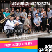 The Miami Big Sound Orchestra at Arts Garage