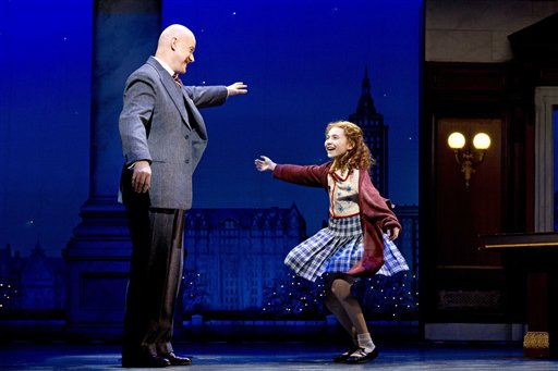 Lilla Crawford in Annie preview