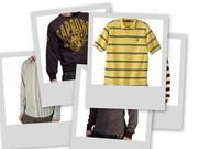 Menswear - T-Shirts, Polo Shirts, Sweat shirts, Sweaters, Jackets, Pyjamas, Shirts, Night Shirts, Pants, Denims, Bermuda, Pullover, Trousers, Shorts, Leather Jackets.